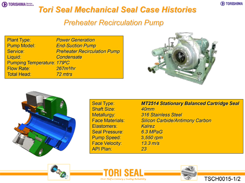Mechanical Seals | TORISHIMA-ENGLISH